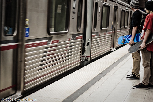 Skateboarding to Union Station would take long time