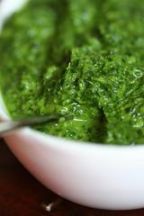 thai basil salsa verde