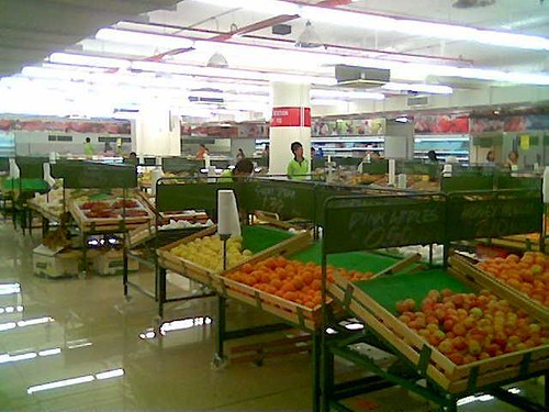The Market Place - fruits and veg