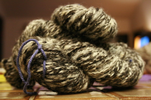 This is my Finnsheep all plied together.