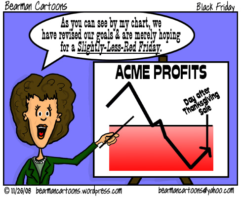 11 26 08 Black Friday Bearman Cartoon on WordPress