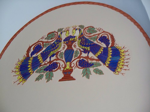 Interior Peacock Detail