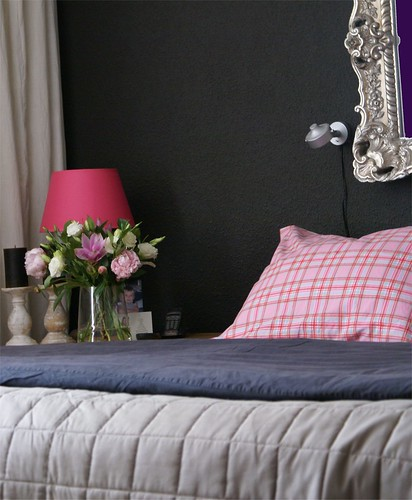 Black n Pink bedroom from Elisabeth85
