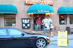 Maserati of Baltimore visiting Ciao Bella Restaurant June 28, 2008