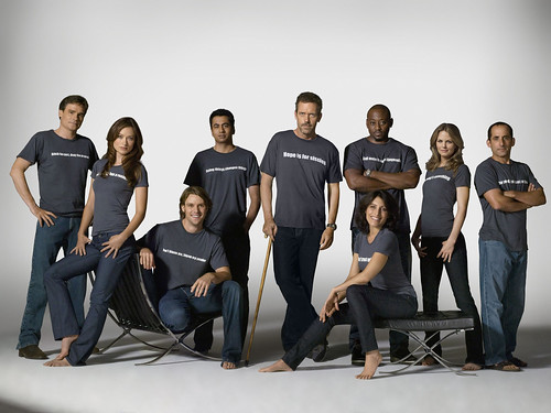 HOUSE cast - Season 5 promo pic