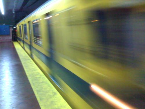 Subte, linea E (by morrissey)
