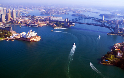 Sydney - Tilt-Shift by spmcfarland.