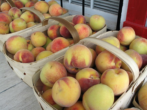 Georgia Peach, North Augusta, South Carolina, July 2008, photo © 2008 by QuoinMonkey. All rights reserved.
