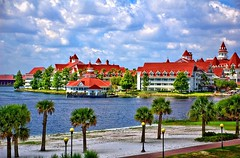 Disney - Grand Floridian From Monorail - HDR L...