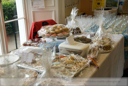 Tha cake stall at the last Fun Day!
