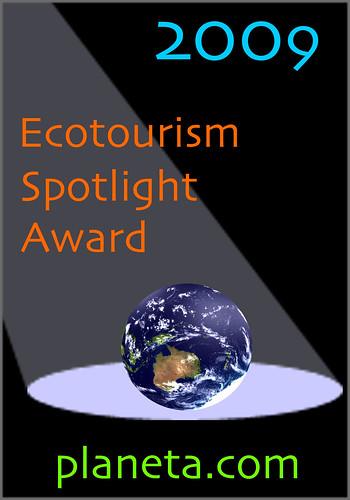 2009 Ecotourism Spotlight Award
