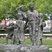Statue Of Mormon Pioneers