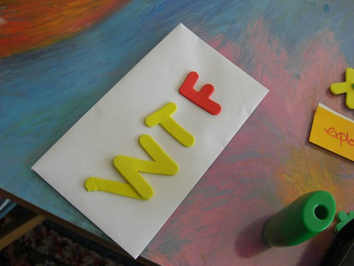 WTF: playing with letters