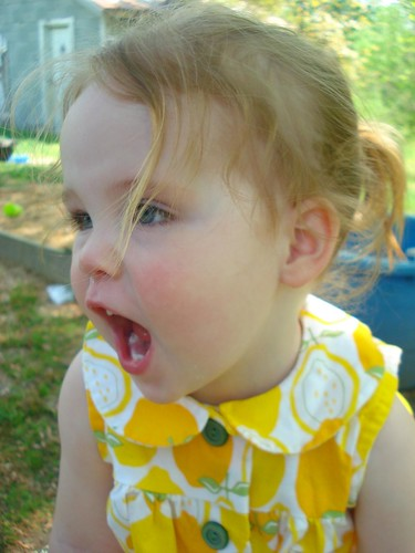 Lemonade Dress - funny face