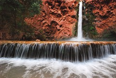 Mooney Falls on the Havasupai Reservation