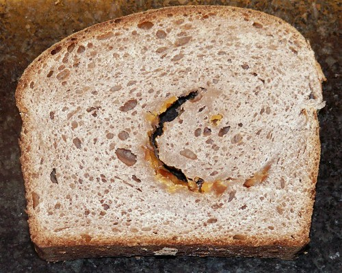 You can see the crescent of smoked cheddar and maple goodness!