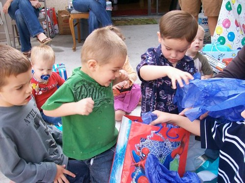 caden at wyatt's party by you.