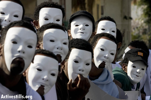 What if we were white? Eritrean asylum seekers protest in Tel Aviv