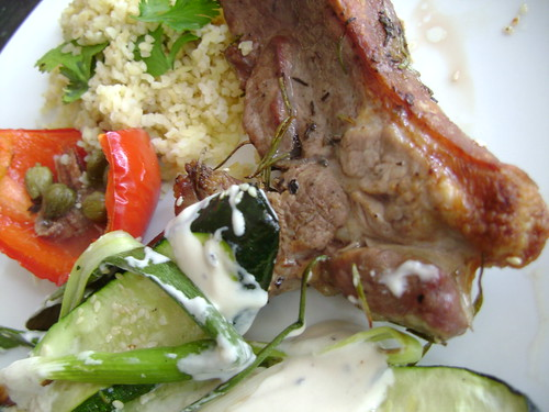 Salt Marsh Lamb with Spiced Salad