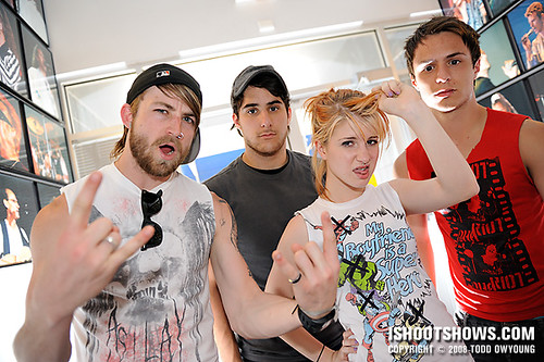 Paramore @ Warped Tour