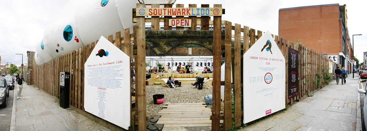 entrance southwark lido
