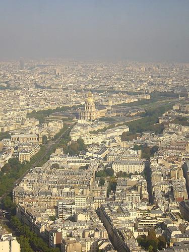 Parigi vista dalla torre Montparnasse