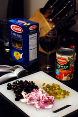Tonight's pasta extravaganza