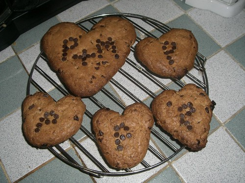 Valentines Cookies :) (Yes I am a loser.  But it was fun)