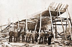 Early  Shipbuilding Lorain OHio