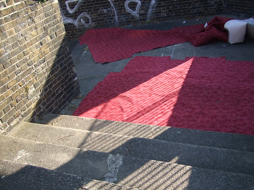 Red Carpet on the Stairs