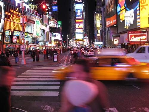Times Square in Motion von Roboputz.