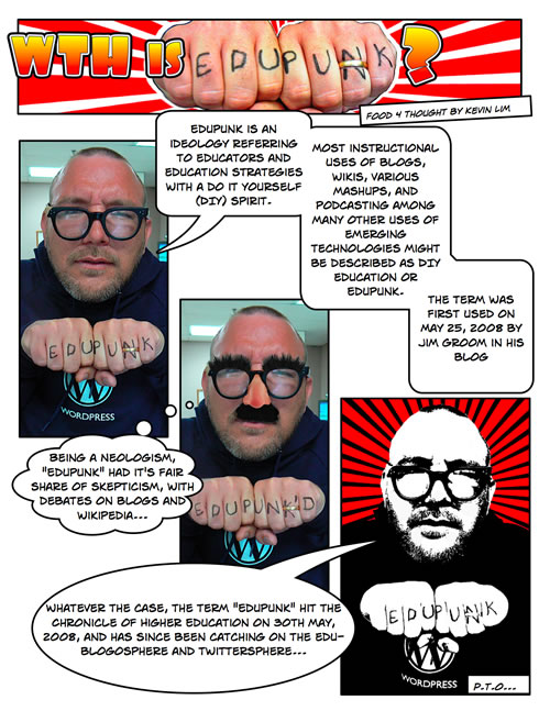 Comic: WTH is EduPunk?