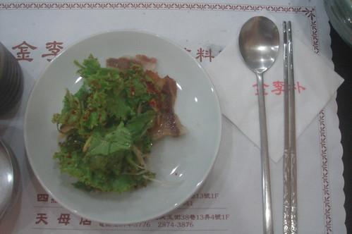 韓國鐵板烤肉生菜 1