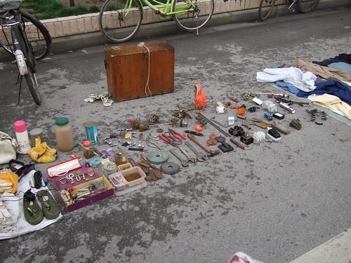 Chinese flea market