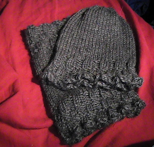 Basketweave Hat and Neckwarmer