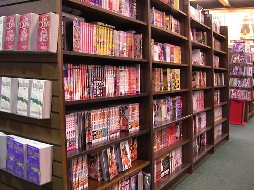 Manga Section at BN