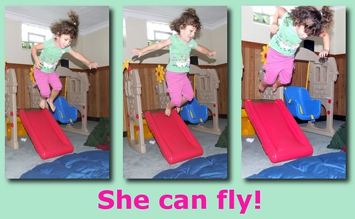 She Can Fly!