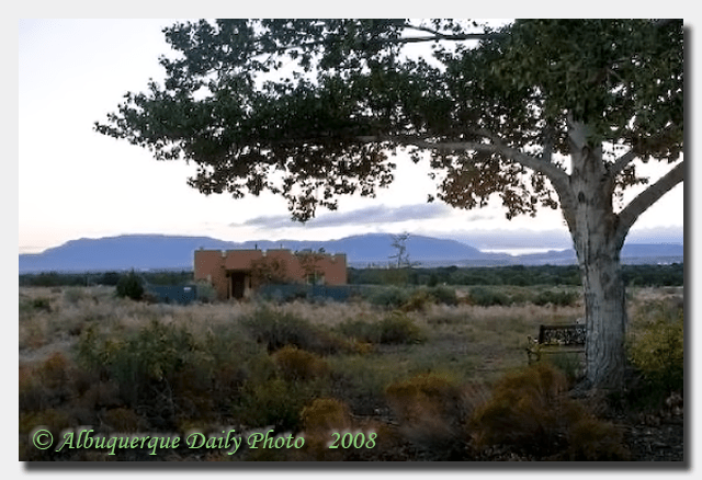 Albuquerque's South Valley at Dawn