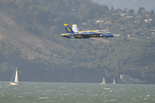 San Francisco Fleet Week - Blue Angels Friday Practice - Sneak Pass