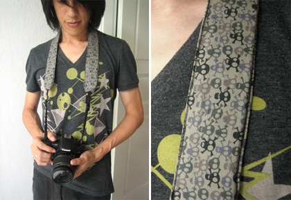 skully camera strap slip over
