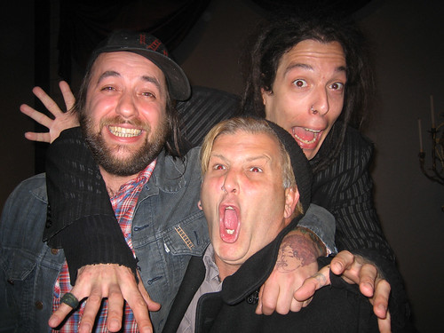 My Brad and the Davids (Brad makes great Bad Face)