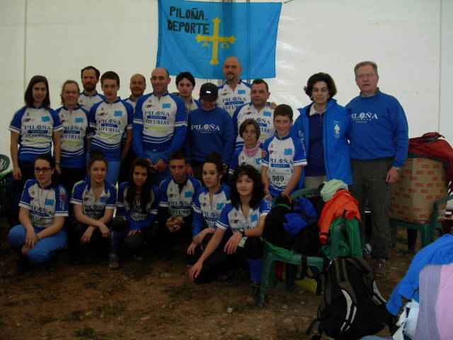 Piloña.Deporte Orientación, Guadalajara, Abril 2011