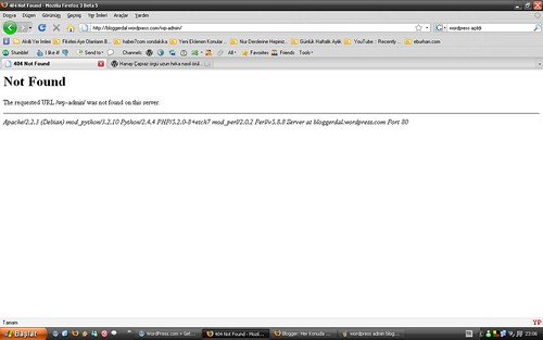 wordpress admin bloggerdal 2
