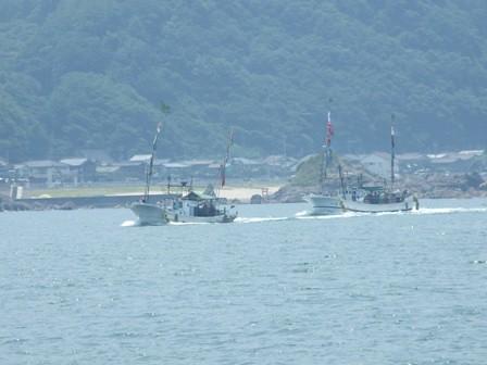 海の縁日 漁船パレード