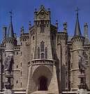 Antoni Gaudi. Palacio Episcopal de Astorga. 1887.