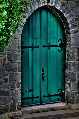 The Green Doors