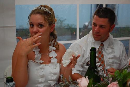 Bravest bride I know!