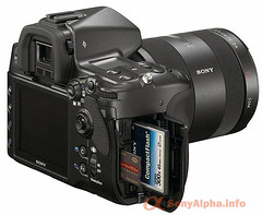 Sony Alpha a900 Full Frame Unveiled