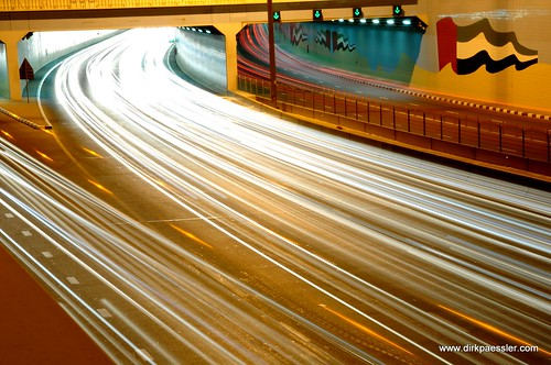 Tunnel at Sheikh Zayed Road, Dubai