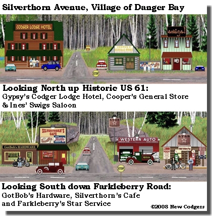 Silverthorn Avenue in Danger Bay ©2008 New Codgers